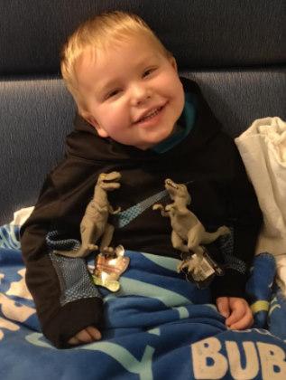 Alaric, de 2 anos Foto: Facebook