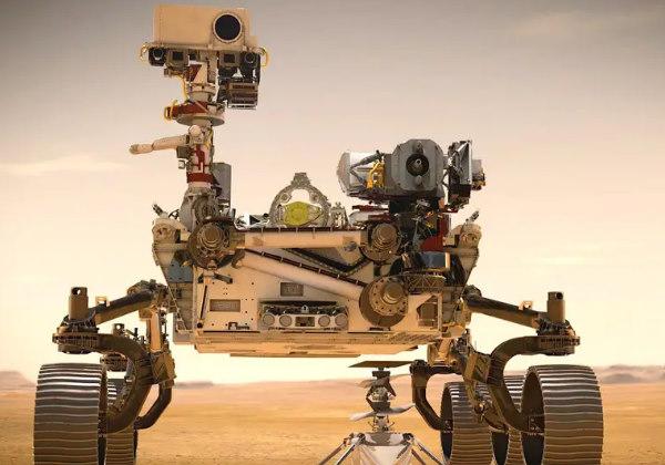 Ilustração do robô Persevarance Foto: NASA