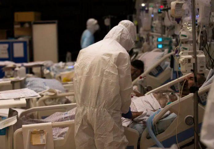 Pacientes internados em hospital - Foto: Atef Safadi / EFE/EPA