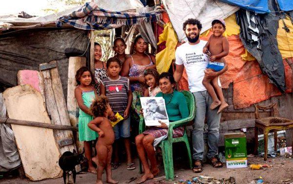 Família carente do sertão da BA - Foto: Bismarck Araújo