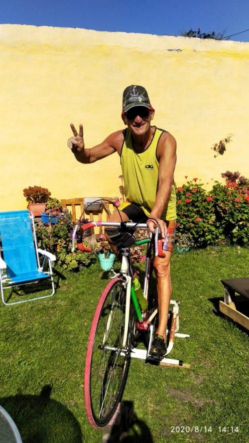 Norberto andando de bike - Foto: arquivo pessoal