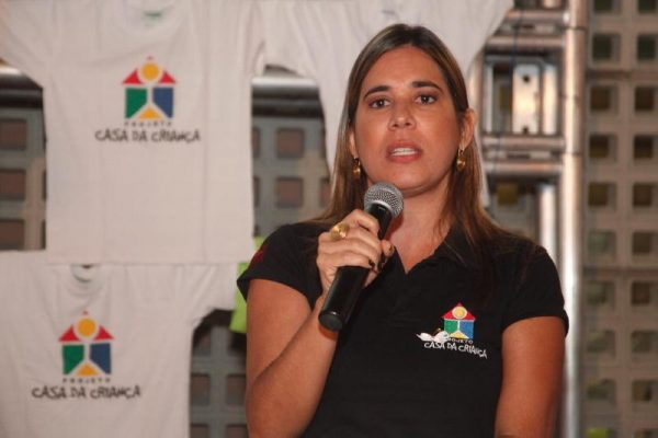 A arquiteta Patrícia Chalaça - Foto: divulgação