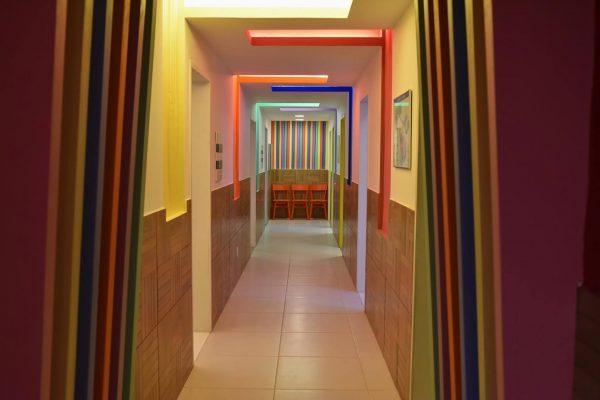 Uma das casas construídas para crianças - Foto: divulgação