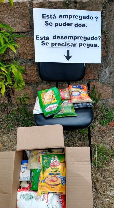 Oferece alimentos para desempregados - Foto: arquivo pessoal