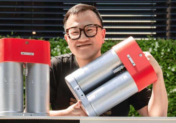 A startup LAVO quer distribuir a bateria para todo o país ainda em 2021 - Foto: LAVO