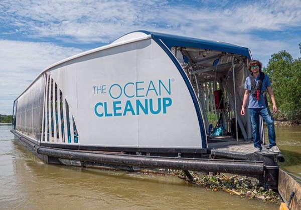 Boyan Slat, fundador da The Ocean Cleanup Foto: Divulgação