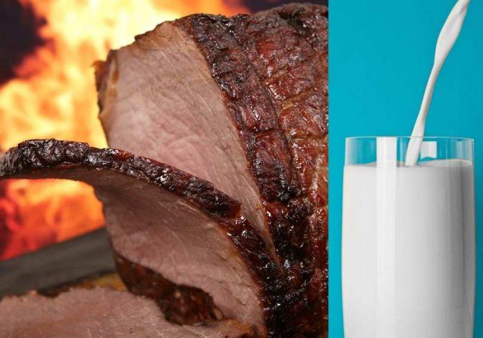 Redução de impostos de carne e leite em SP - Fotos: Pixabay / Shutterbug75 / StockSnap