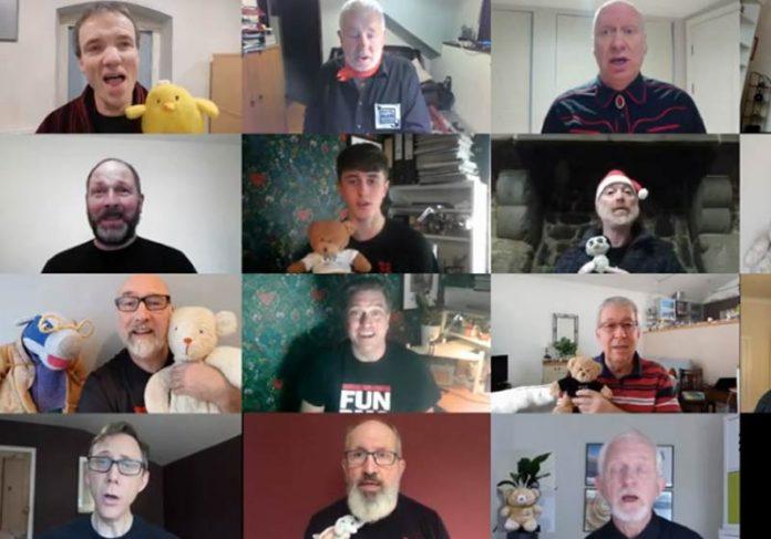 O coral Bristol Man Chorus canta música de ninar - Foto: reprodução / Youtube