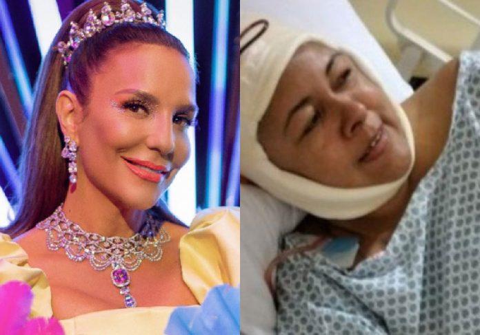 Ivete Sangalo atendeu o pedido da filha de Catia Ciline, Tayna. - Foto: reprodução