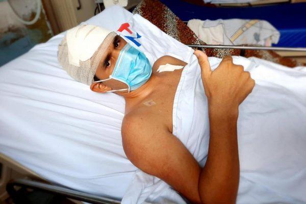 """Lucas Dutra, após cirurgia: """"Tenho esperança de ter uma vida nova. - Foto: reprodução Hospital Ophir Loyola"""