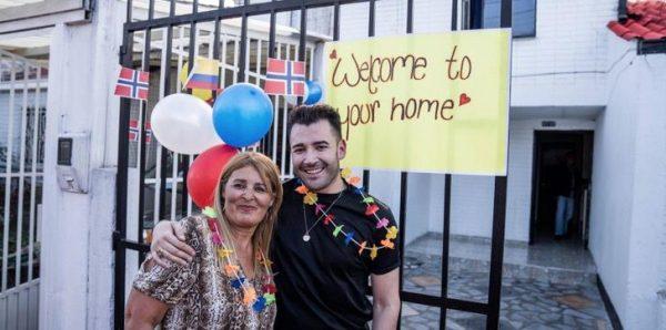 Ana esperou Jonathan com uma super festa, na Colômbia. - Foto: reprodução Instagram @jhonatanjimenez1985
