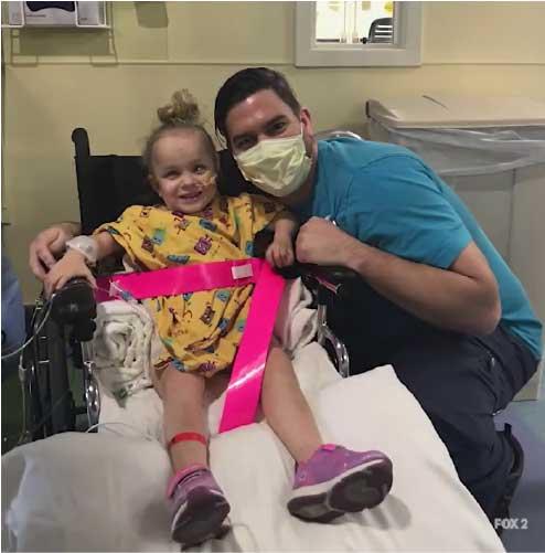 Kayleigh se recupera bem e já faz planos com a família. - Foto: reprodução Fox News