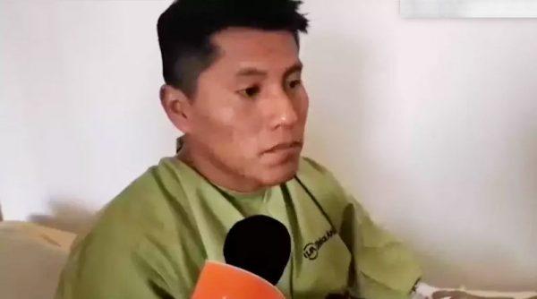 Erwin após cirurgia deu entrevista - Foto: reprodução / CNN