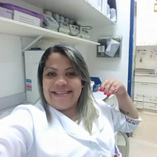 Lidiane Melo no hospital - Foto: reprodução / redes sociais