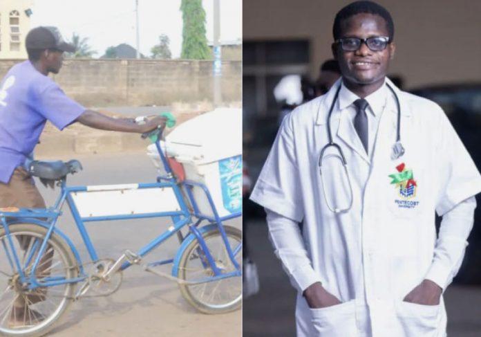 O maior sonho de Adom-Ba era trabalhar em hospitais para ajudar pessoas carentes. E ele conseguirá! - Foto: UGC