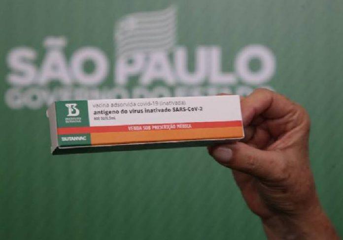Vacina brasileira produzida pelo Instituto Butantan - Foto: reprodução / Governo do Estado de SP