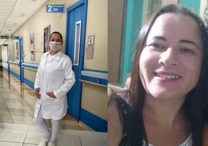 Sue Ellen realizou sonho de ser auxiliar de enfermagem - Foto: arquivo pessoal