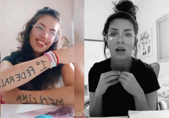 Carol Nobre passou em 1º em Medicina - Fotos: arquivo pessoal