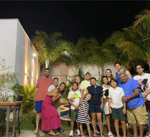 Família da Fabrícia - Foto: arquivo pessoal