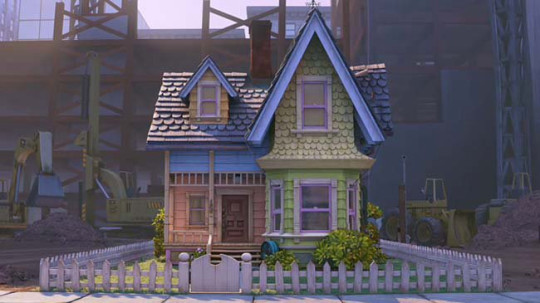 Casa que serviu de inspiração para Scott. - Foto: reprodução Pixar