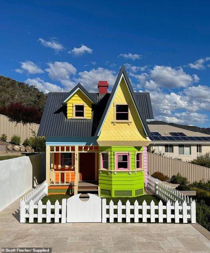 Casa construída no quintal do Scott. - Foto: arquivo pessoal