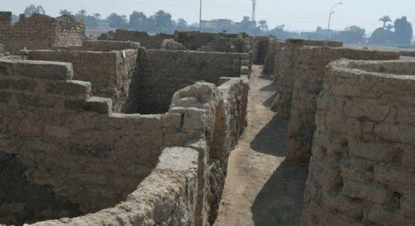 Egito descobre cidade perdida com estrutura bastante conservada - Foto: Reuters