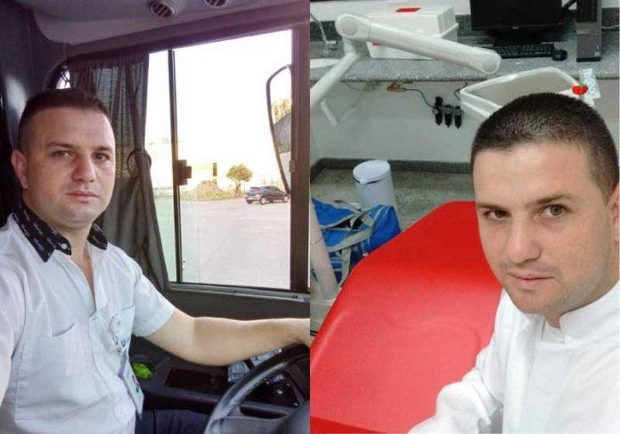 José trabalhava como motorista de ônibus e hoje comemora a aprovação em concurso para cirurgião-dentista - Foto: arquivo pessoal