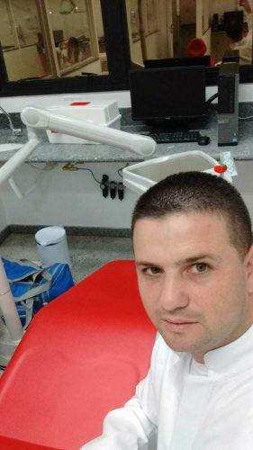 José já cursando Odontologia. - Foto: arquivo pessoal