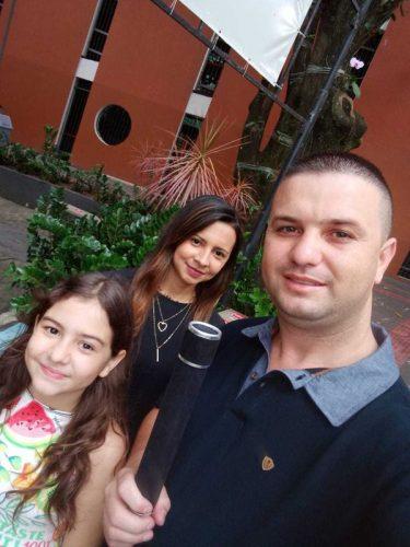 José e a família - Foto: arquivo pessoal