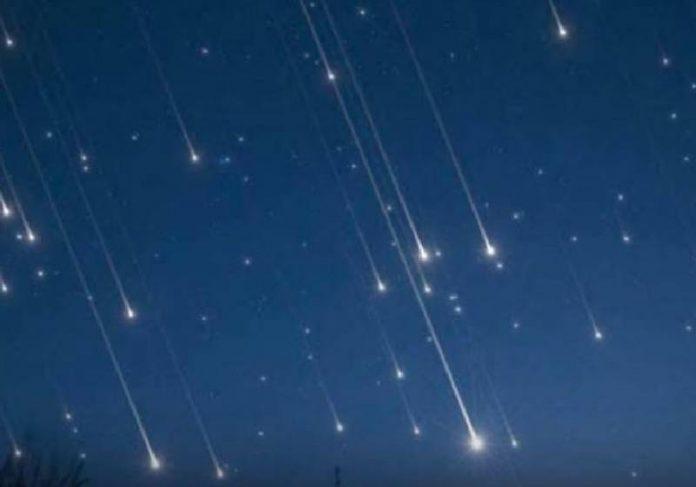 A chuva de estrelas cadentes começa a partir da meia-noite - Foto: divulgação
