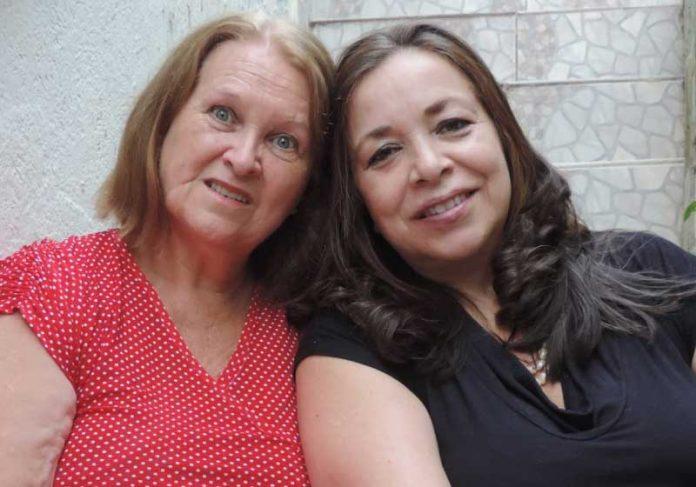 Silvana e Ivone sempre viveram perto uma da outra, mas não sabiam disso. - Foto: arquivo pessoal