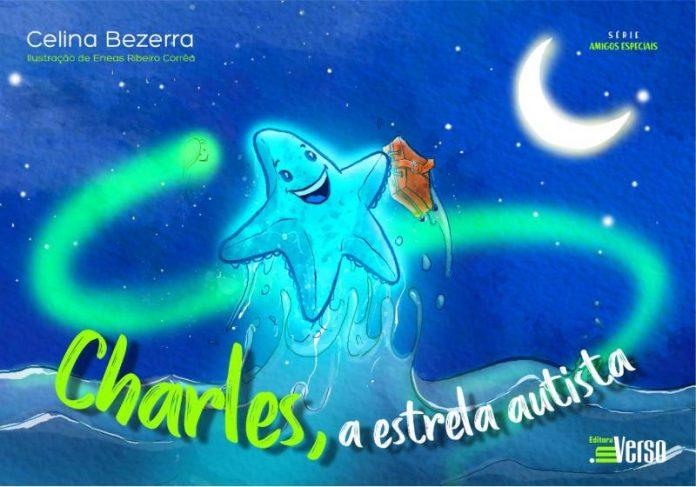 Capa do livro Charles, a Estrela Autista - Foto: divulgação