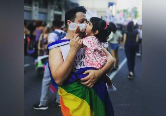 Pablo e Mia inspiram outras famílias. - Foto: reprodução Instagram