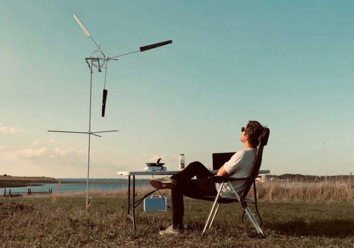 Turbina eólica portátil - Foto: divulgação KiteX