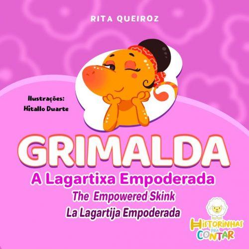 Capa do livro Grimalda - Foto: divulgação