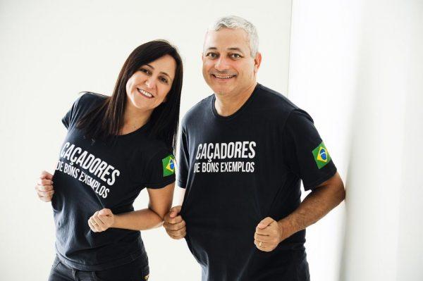 Iara e Eduardo, Caçadores de Bons Exemplos - Foto: arquivo pessoal
