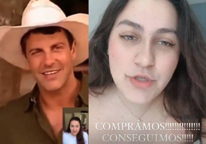 Gerson Brenner e a filha Vica - Fotos: reprodução / Instagram