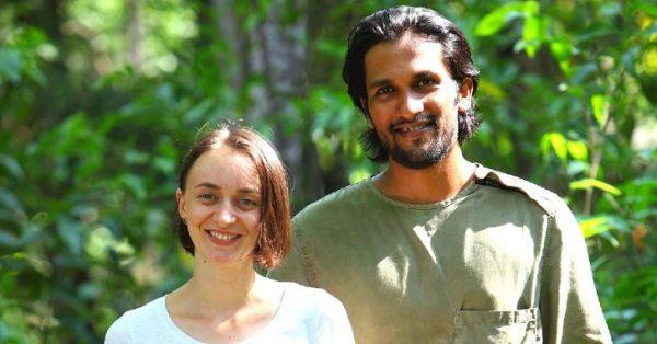 Zuzana e Susmith, criadores do couro vegano - Foto: Malai Biomaterials Design Pvt Ltd