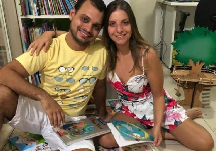 Vivian e Rodrigo Vaz, idealizadores do @historinhaspracontar - Foto: divulgação