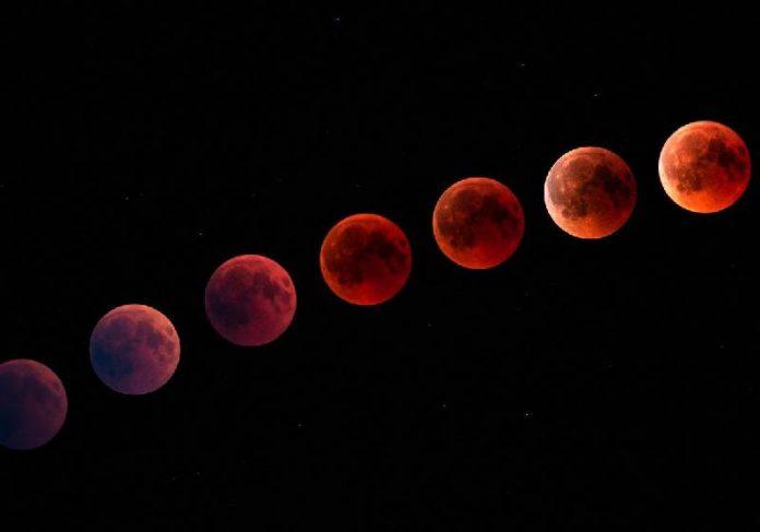 O espetáculo da Lua de Sangue - Foto: Comfreak / Pixabay