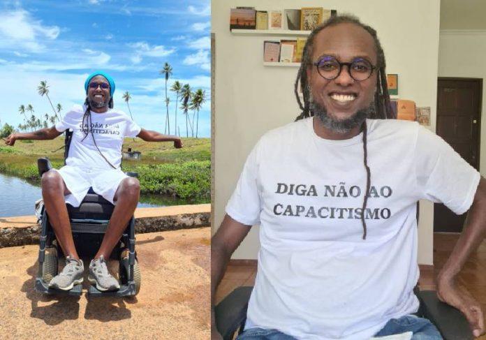 Marcelo Zig do Projeto Quilombo PCD - Fotos: divulgação