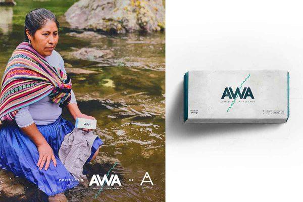 Publicidade AWA. - Foto: divulgação