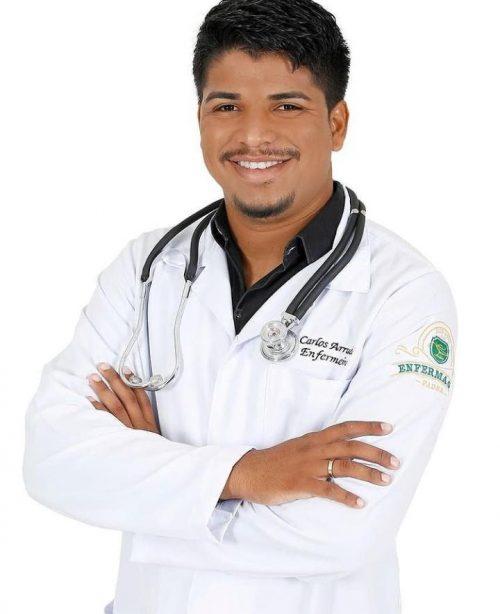O enfermeiro Carlos Eduardo Arruda - Foto: arquivo pessoal