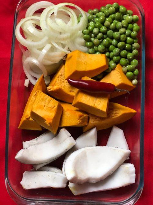 Ingredientes da receita - Foto: Patrícia Varela
