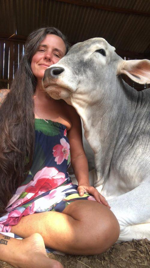 Patrícia Varela no Santuário Vale da Rainha - Foto: arquivo pessoal