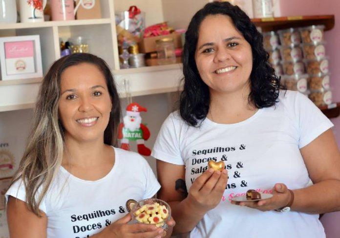 Vanessa e Priscila melhoraram as vendas de sequilhos com afeto - Foto: divulgação