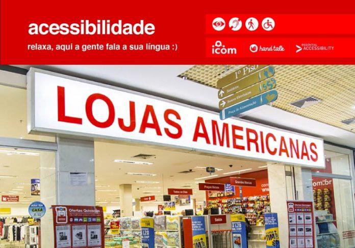 Americanas libera SAC com atendimento em Libras no site e app - Foto: divulgação