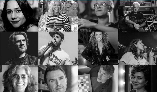 Algumas celebridades que participaram da campanha. - Foto: divulgação