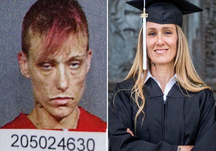 O Antes e Depois de Ginny Foto: Ginny Burton