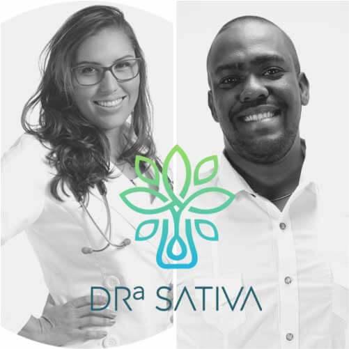 Beatriz e Guilherme, fundadores da Doutora Sativa. - Foto: divulgação